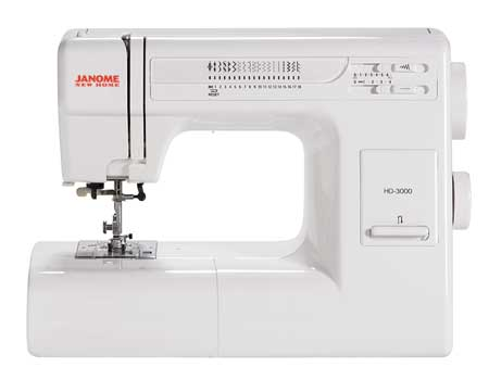 Janome HD3000 Sewing Machine Review
