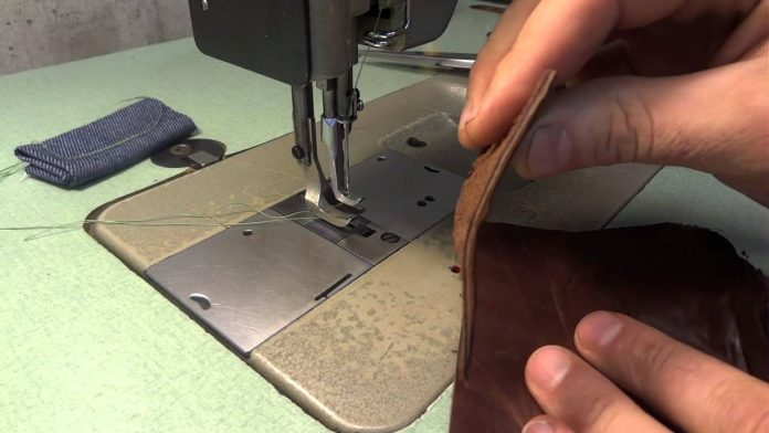 Sewing Leather Tips - Stitching Leather With a Sewing Machine At Home